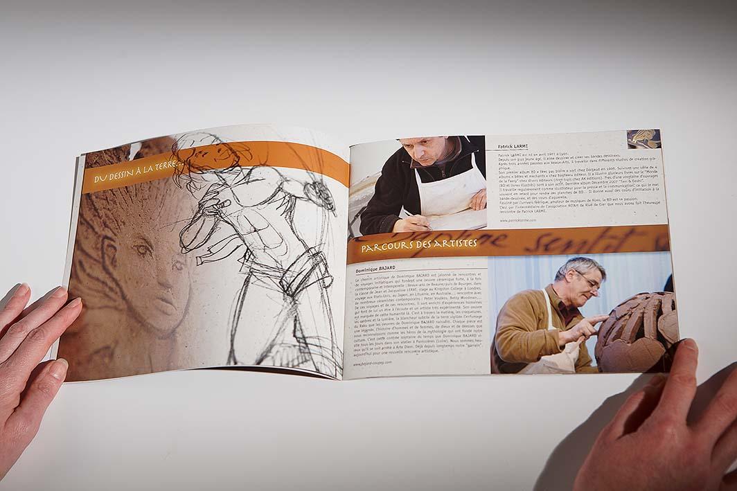Création graphique pour Arte Diem 2007
