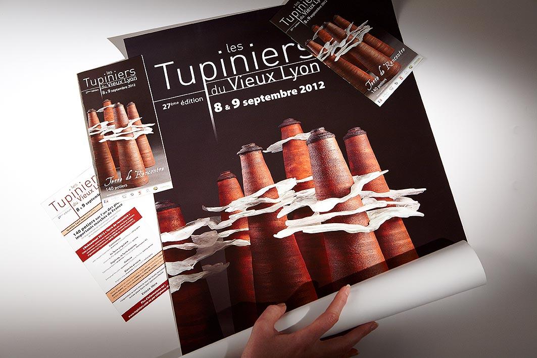 Créa graphique pour les Tupiniers 2012