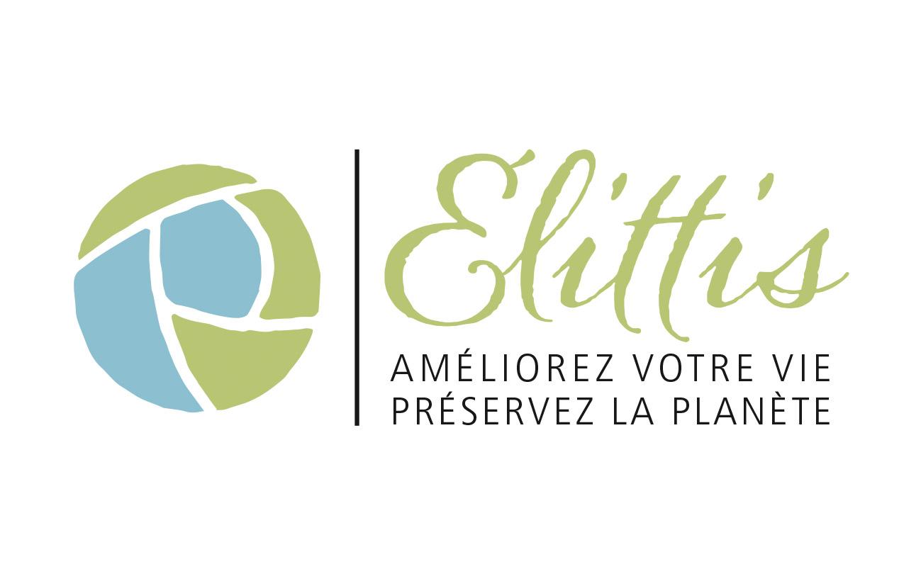 Sélection de création de logo pour Élittis avec modification du E