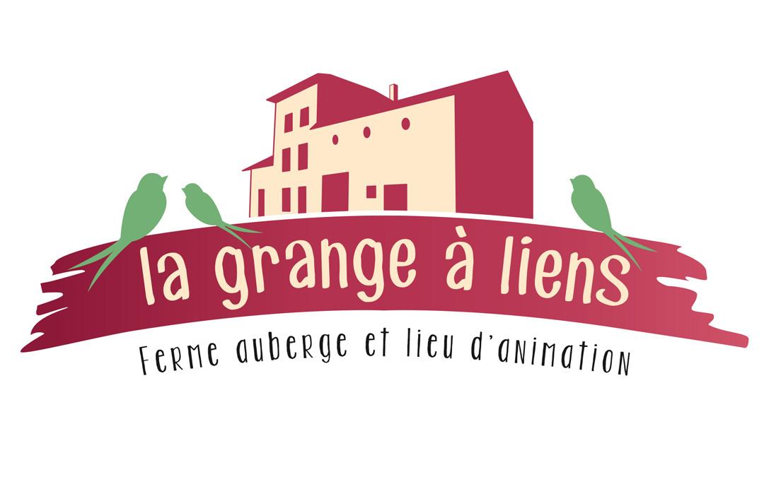 Création d'un logo pour la Grange à liens